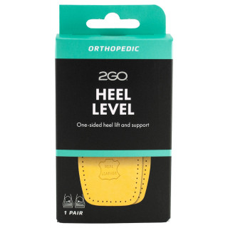 Heel Level Inserts To Correct Tilting