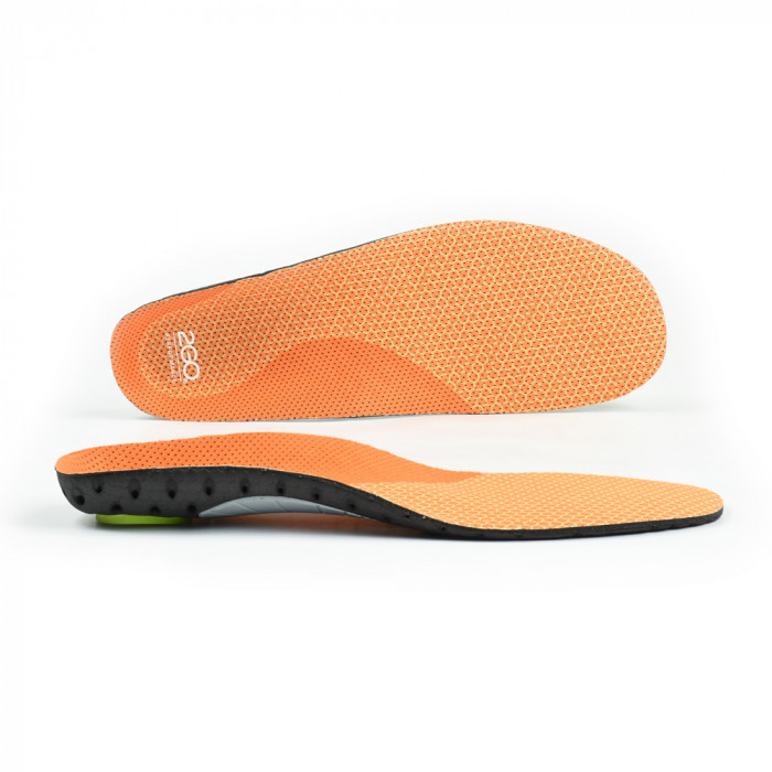 Arch support insoles for performance