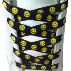 Shoelaces - 10mm Smiley Faces