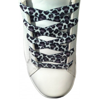 Leopard shoelaces