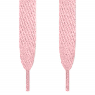 Super wide pink shoelaces