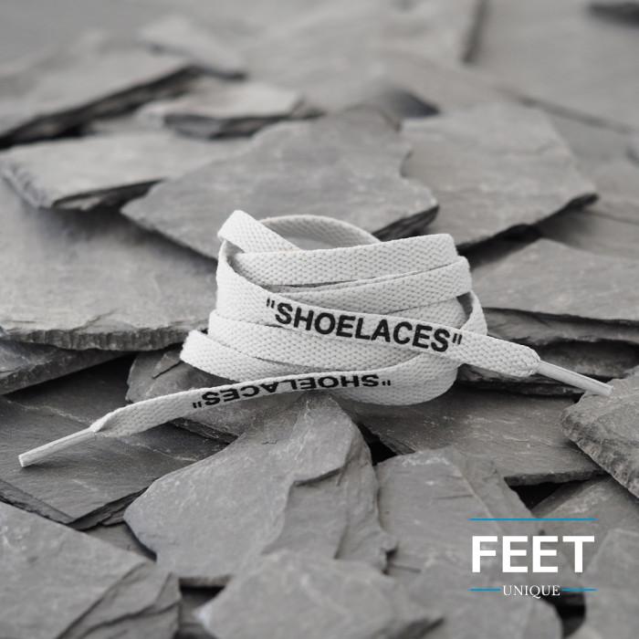 Light Grey OFF-WHITE Shoelaces