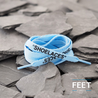 University Blue OFF-WHITE Shoelaces