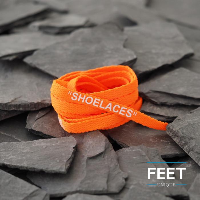 Neon Orange OFF-WHITE Shoelaces