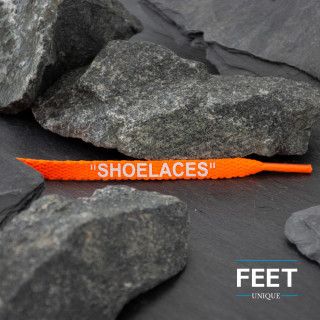 Neon Orange OFF-WHITE Shoelaces