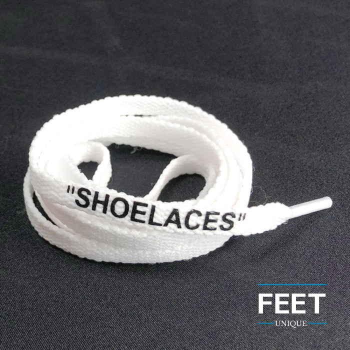 White OFF-WHITE Shoelaces