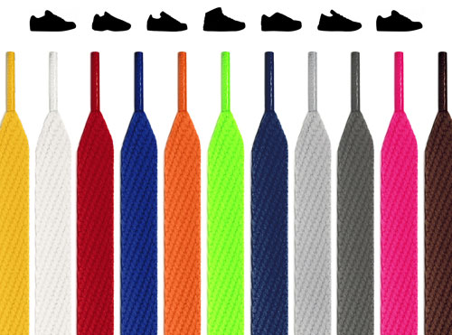 Extra-Wide Flat Shoelaces