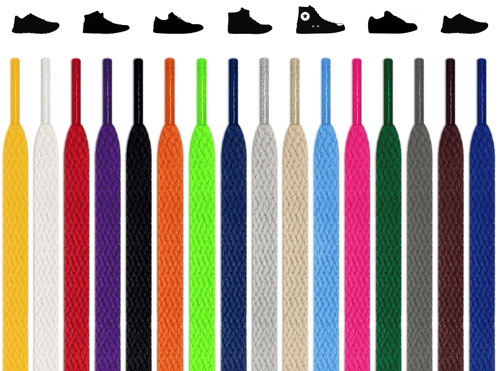 Flat Shoelaces