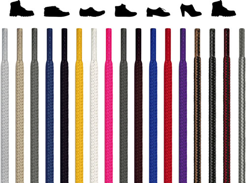 Round Shoelaces