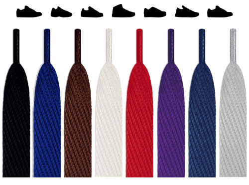 Flat Super Wide Shoelaces